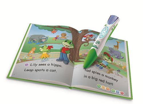 LeapFrog-LeapREADER-with-book-MR