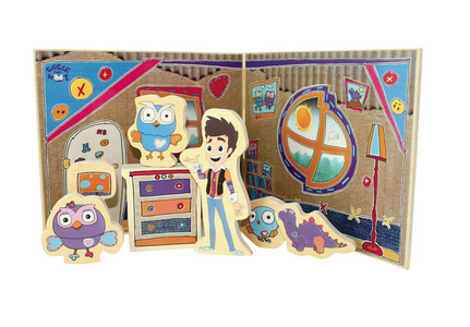 Giggle and Hoot Wooden Playroom