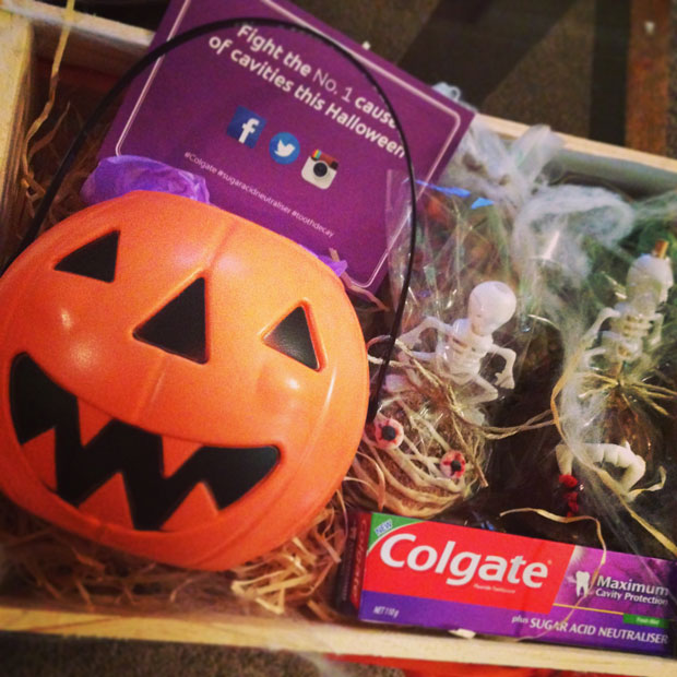 Halloween Colgate Sugar Acid Neutraliser