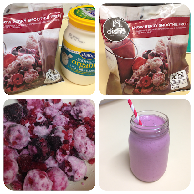 dish'd berry smoothie