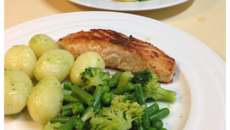 dish'd salmon