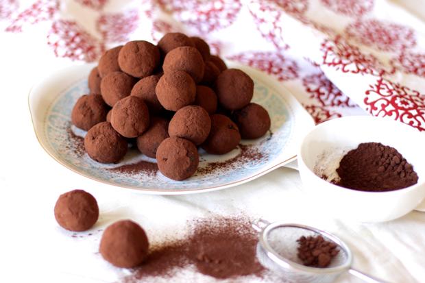 Healthy Choc Truffles