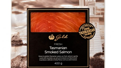 Woolworths Gold Tasmanian Smoked Salmon