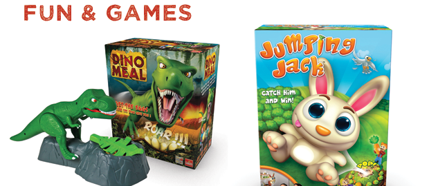 Dino Meal and Jumping Jack