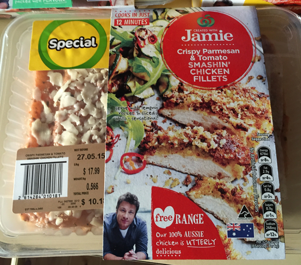 Created with Jamie Oliver