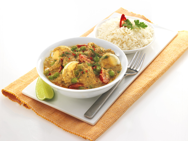 Chicken and Korma Egg Curry Recipe