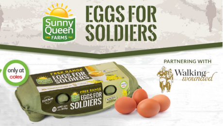 Sunny Queen Eggs for soldiers
