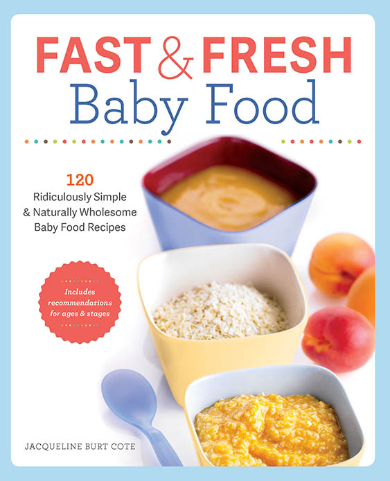 Fast and fresh baby food - Health & Wellness