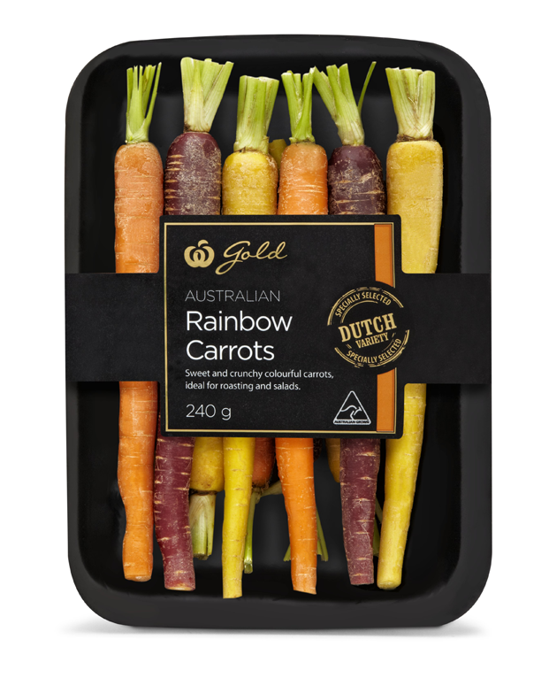 Gold Rainbow Carrots