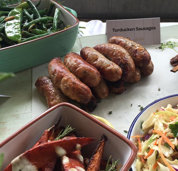 Woolworths Turducken Sausages