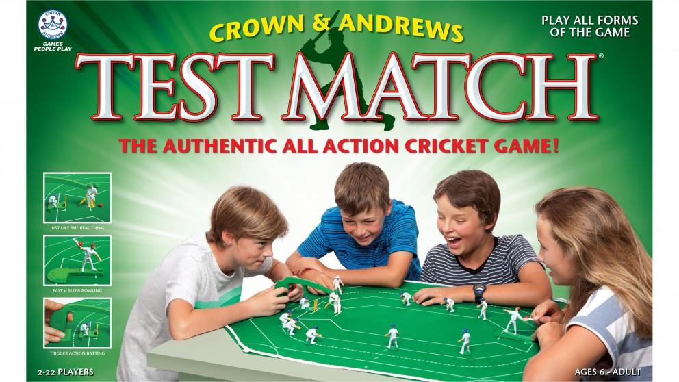 Test Match Cricket Game