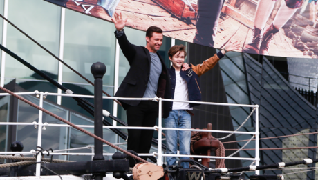 Hugh Jackman in Pan