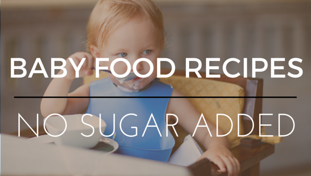 sugar free baby food