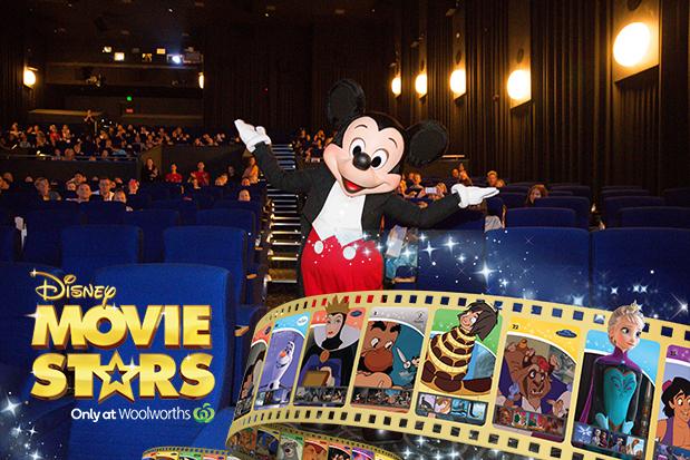 Woolworths Disney Movie Stars