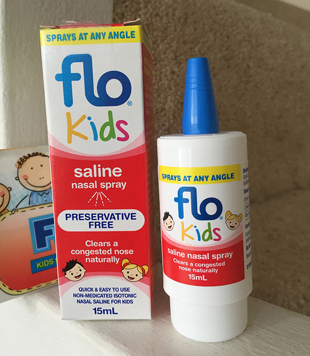 Flo Kids Saline nasal spray