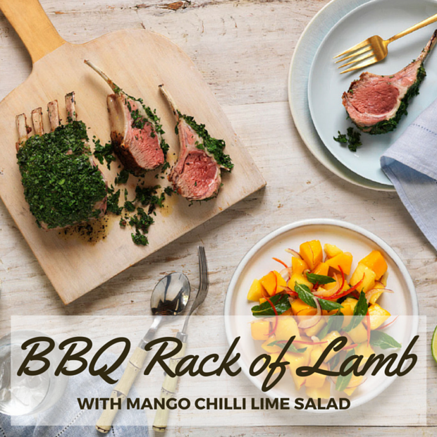 BBQ Rack of Lamb