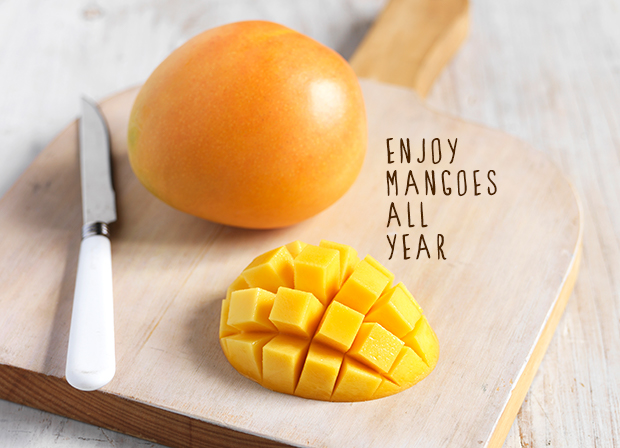 Mango freezing tips