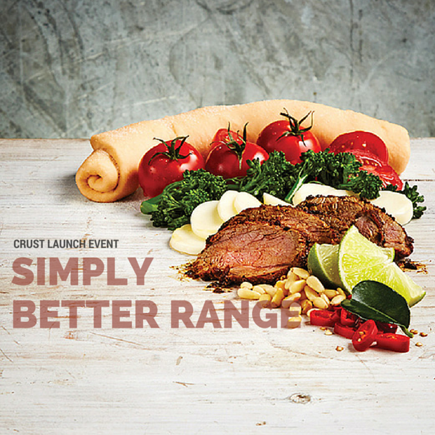 Crust Pizza Simply Better Range