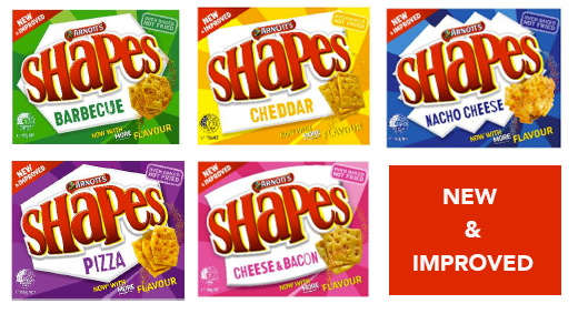 New and improved shapes