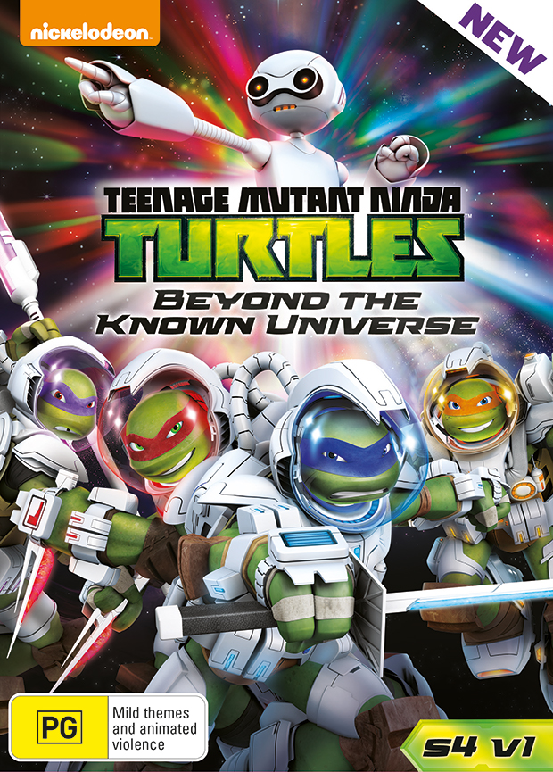 TMNT DVD Movie Release