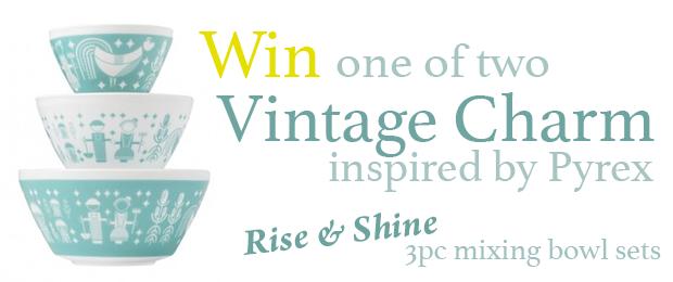 Win Pyrex Vintage Charm