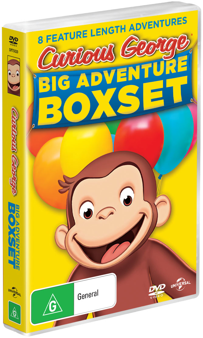 Curious George Box Set