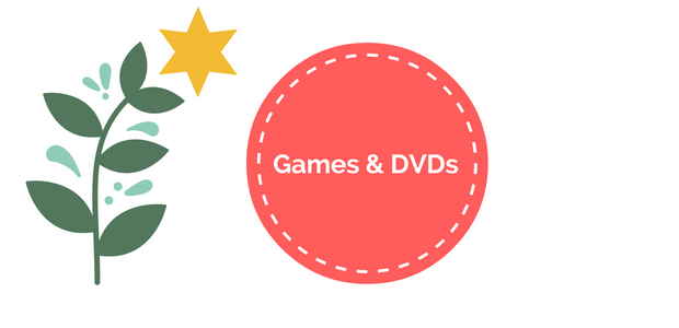 Christmas Gift Guide Games & DVDS