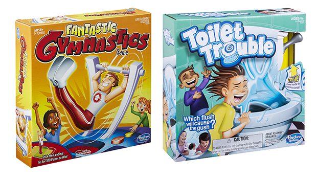 Toilet Trouble and Fantastic Gymnastics