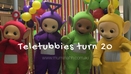 Teletubbies 20 years