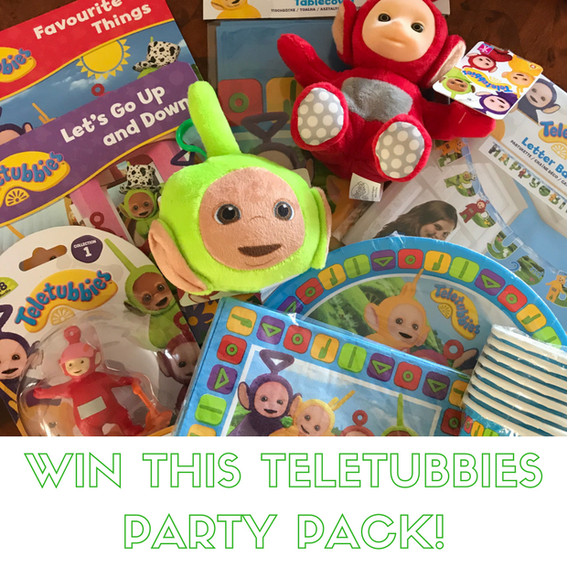 Win a teletubbies prize pack