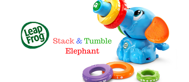 LeapFrog Stack & Tumble Elephant