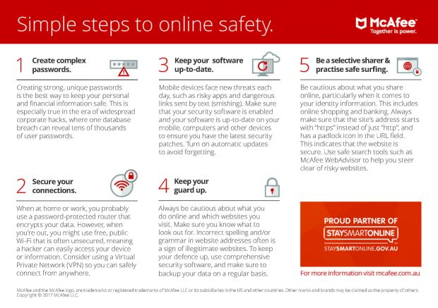 McAfee Stay Smart Online